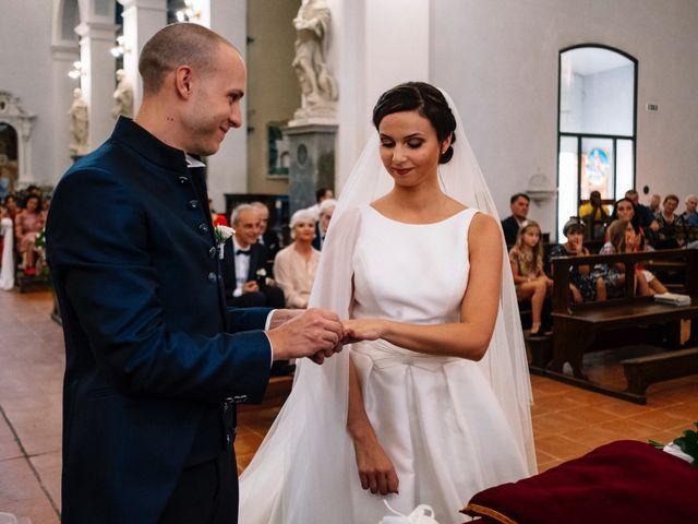 Il matrimonio di Giulio e Elena a Sinalunga, Siena 20