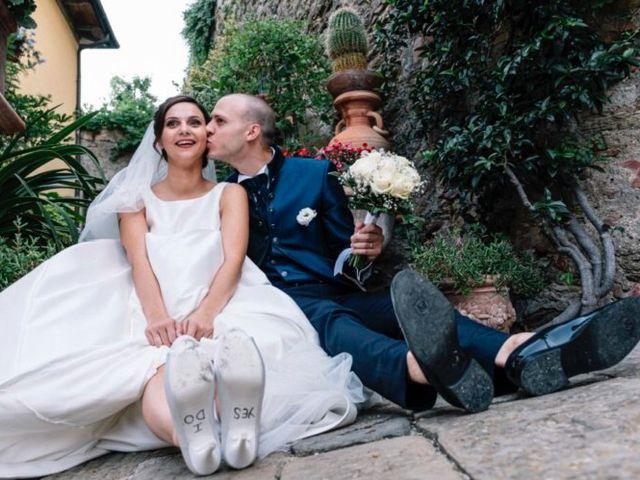 Il matrimonio di Giulio e Elena a Sinalunga, Siena 27