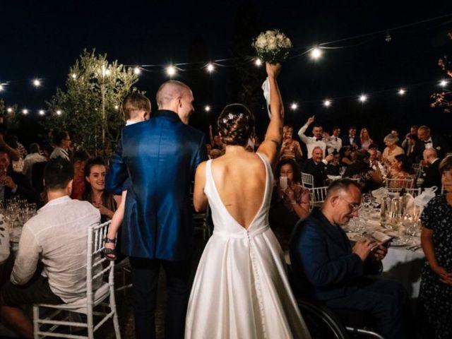 Il matrimonio di Giulio e Elena a Sinalunga, Siena 35
