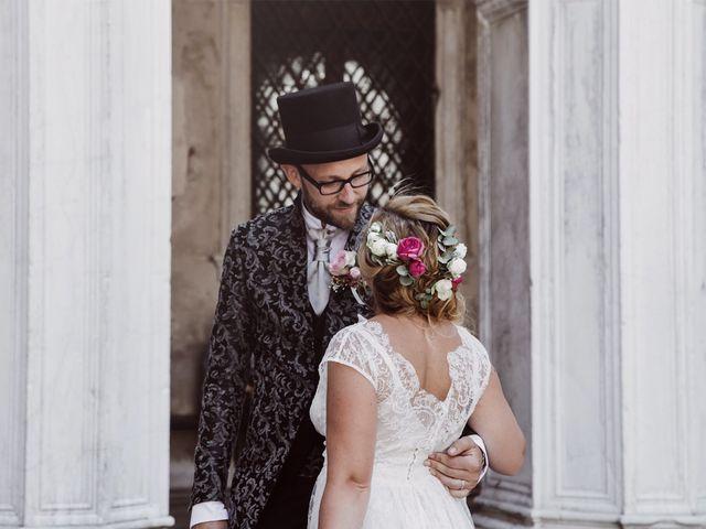 Il matrimonio di Polo e Carlotta a Venezia, Venezia 41