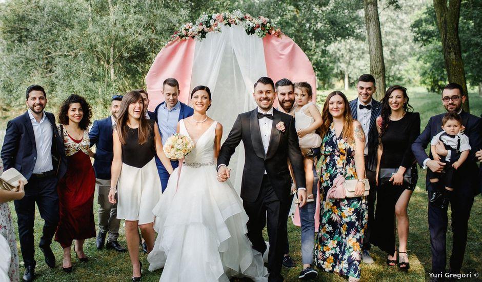 Il matrimonio di Vittorio e Lavinia a Milano, Milano