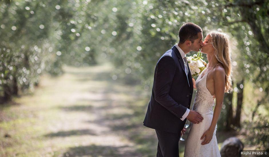 Il matrimonio di Mike e Andrea a Monteriggioni, Siena