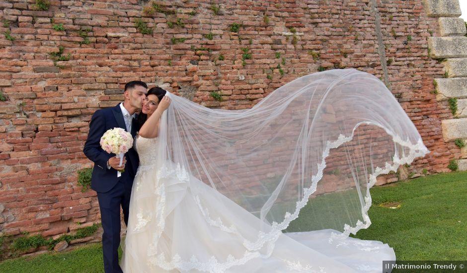 Il matrimonio di Nicola e Maria Grazia a Bevilacqua, Verona
