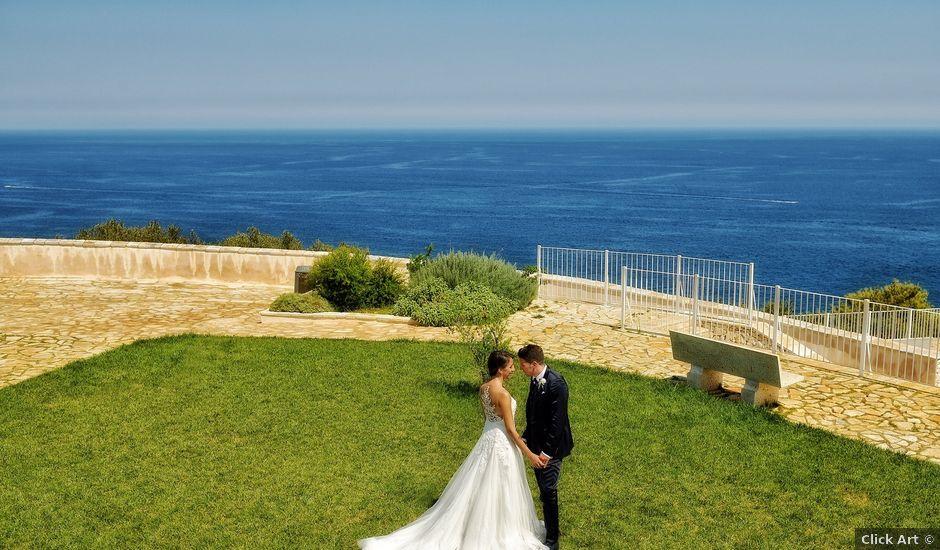 Il matrimonio di Nicola e Agnese a Castro, Lecce