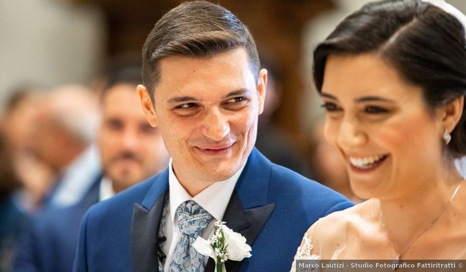 Il matrimonio di Daniele e Veronica a Castel Gandolfo, Roma