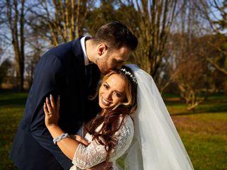 Le nozze di Erika e Gareth
