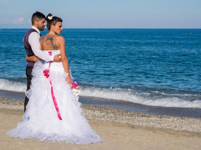 le nozze di Alessia e Gianluca