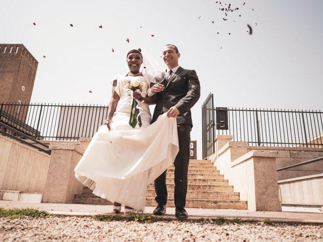 Il matrimonio di Daniele e Elodie a Pomezia, Roma 56