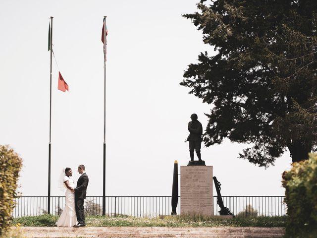 Il matrimonio di Daniele e Elodie a Pomezia, Roma 76