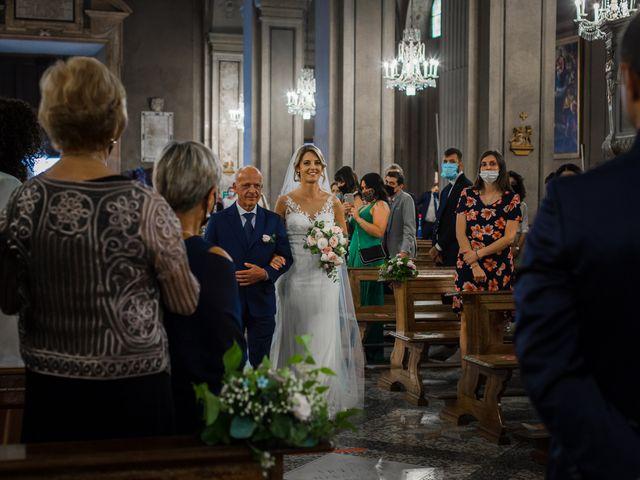 Il matrimonio di Fabio e Sabrina a Montegioco, Alessandria 34