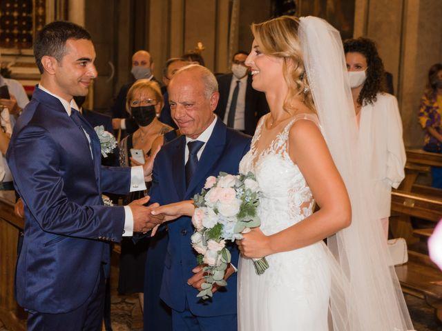 Il matrimonio di Fabio e Sabrina a Montegioco, Alessandria 36
