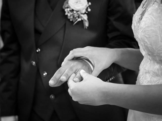 Il matrimonio di Fabio e Sabrina a Montegioco, Alessandria 41