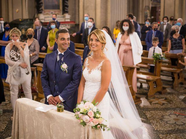 Il matrimonio di Fabio e Sabrina a Montegioco, Alessandria 42