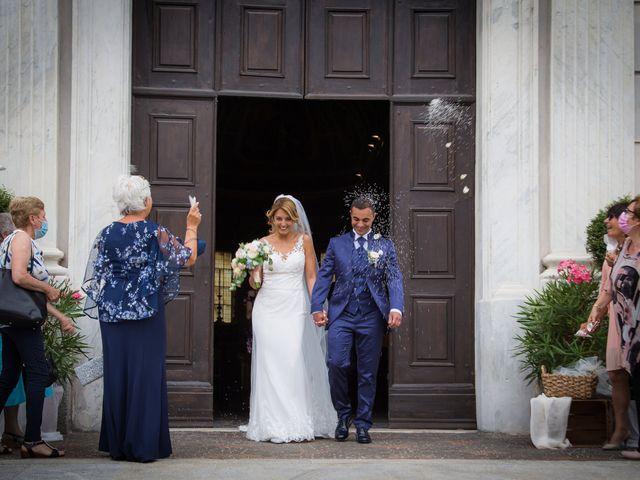 Il matrimonio di Fabio e Sabrina a Montegioco, Alessandria 44
