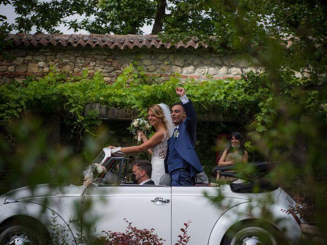 Il matrimonio di Fabio e Sabrina a Montegioco, Alessandria 54
