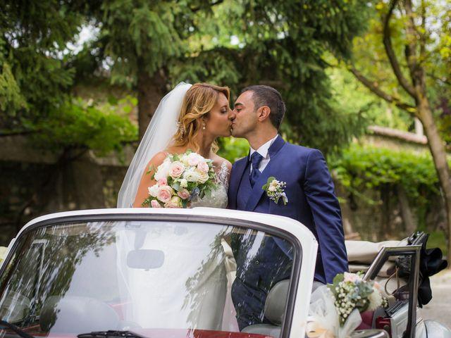 Il matrimonio di Fabio e Sabrina a Montegioco, Alessandria 55