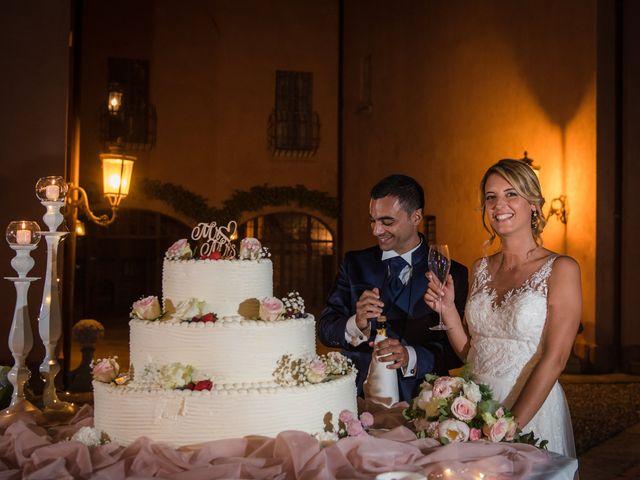 Il matrimonio di Fabio e Sabrina a Montegioco, Alessandria 77