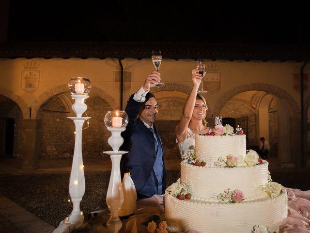 Il matrimonio di Fabio e Sabrina a Montegioco, Alessandria 80