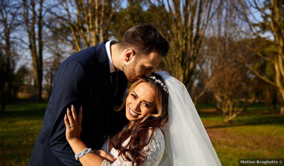 Il matrimonio di Gareth e Erika a Padova, Padova
