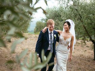 Le nozze di Jessica e Andy