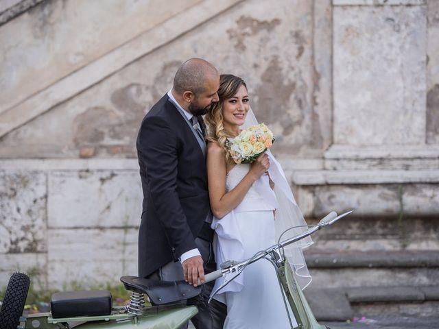 Il matrimonio di Manlio e Deborah a Roma, Roma 28