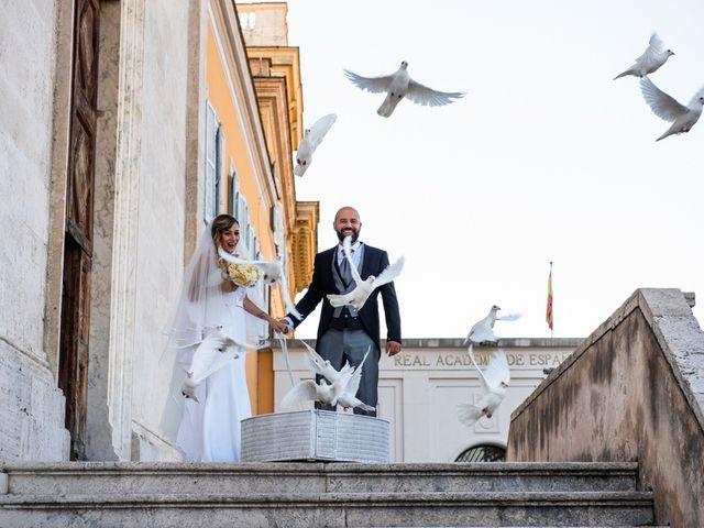 Il matrimonio di Manlio e Deborah a Roma, Roma 43