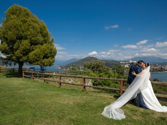 Il matrimonio di Alessandro e Lina a Arona, Novara 14