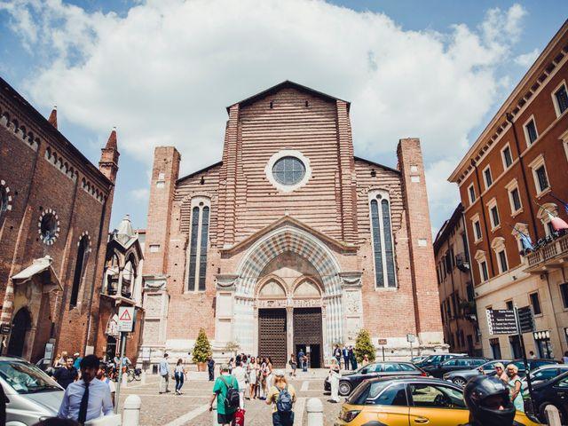 Il matrimonio di Stefano e Kaley a Verona, Verona 17