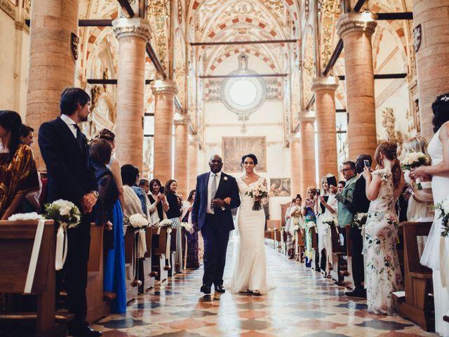 Il matrimonio di Stefano e Kaley a Verona, Verona 18