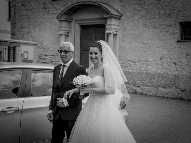 Il matrimonio di Francesco e Elena a Pozzo d'Adda, Milano 11