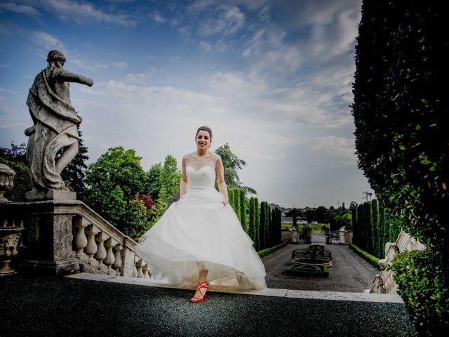 Il matrimonio di Francesco e Elena a Pozzo d'Adda, Milano 43