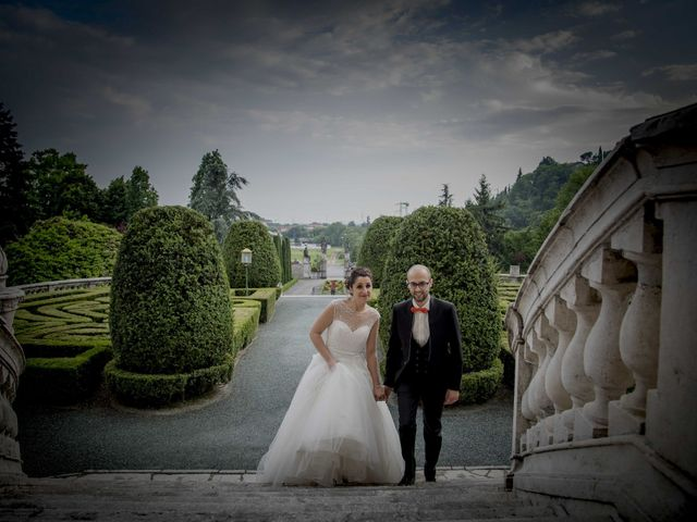 Il matrimonio di Francesco e Elena a Pozzo d'Adda, Milano 1