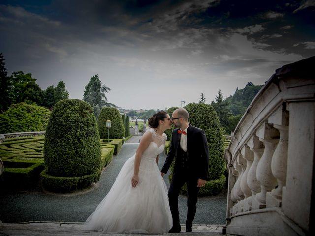 Il matrimonio di Francesco e Elena a Pozzo d'Adda, Milano 2