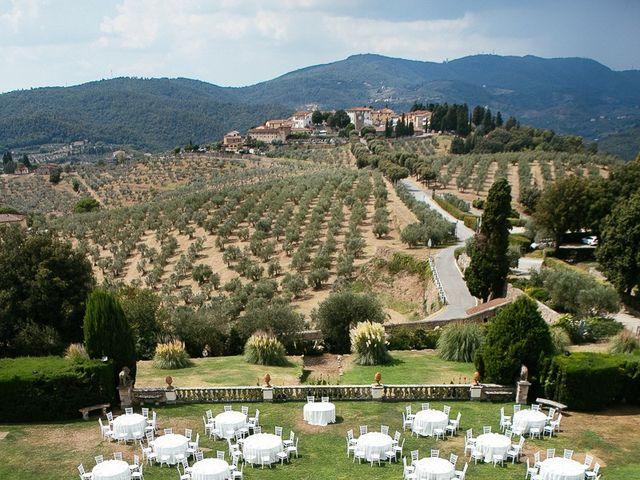 Il matrimonio di Andy e Jessica a Carmignano, Prato 4