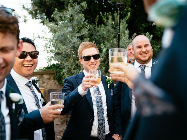 Il matrimonio di Andy e Jessica a Carmignano, Prato 13