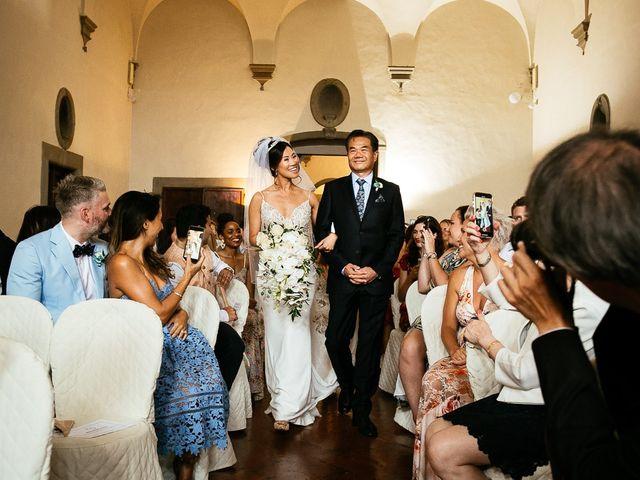 Il matrimonio di Andy e Jessica a Carmignano, Prato 33