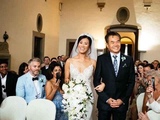 Il matrimonio di Andy e Jessica a Carmignano, Prato 34