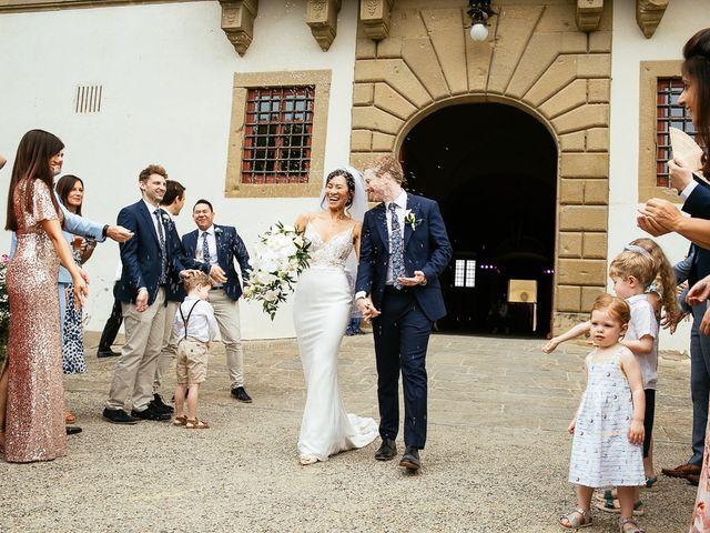Il matrimonio di Andy e Jessica a Carmignano, Prato 50