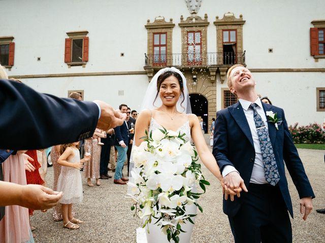 Il matrimonio di Andy e Jessica a Carmignano, Prato 51