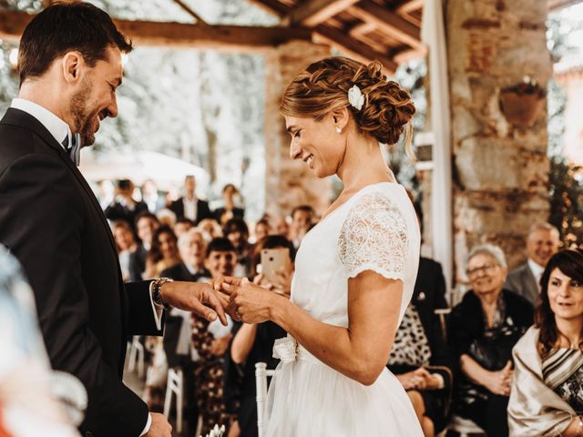 Il matrimonio di Alberto e Giorgia a Comignago, Novara 33
