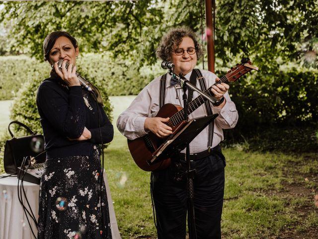 Il matrimonio di Alberto e Giorgia a Comignago, Novara 40