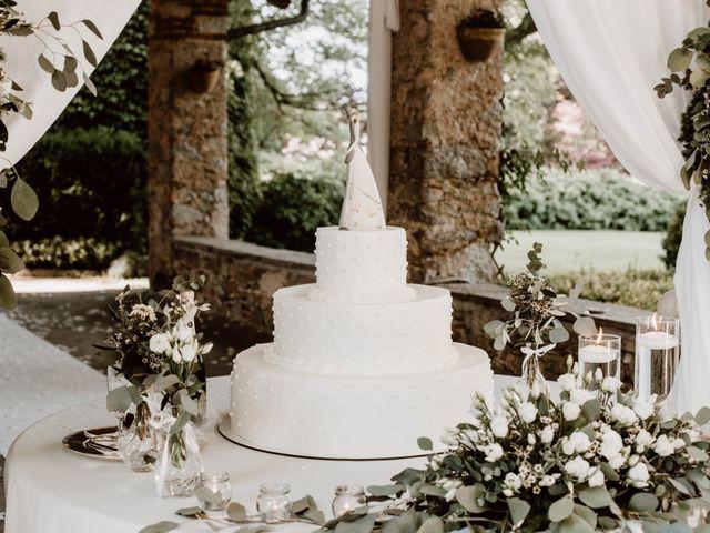 Il matrimonio di Alberto e Giorgia a Comignago, Novara 64