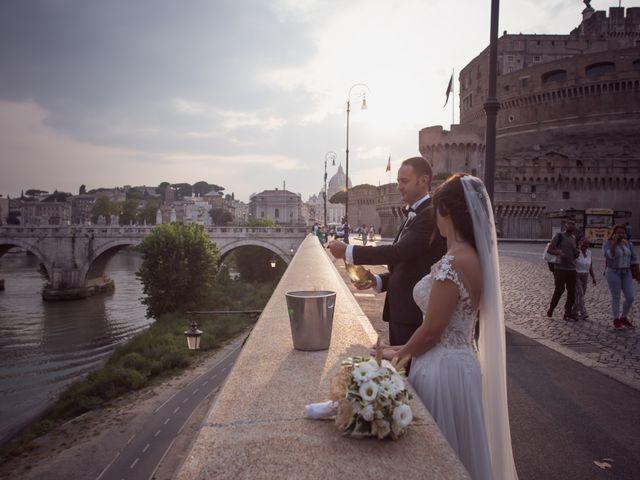 Il matrimonio di Simone e Francesca a Roma, Roma 40
