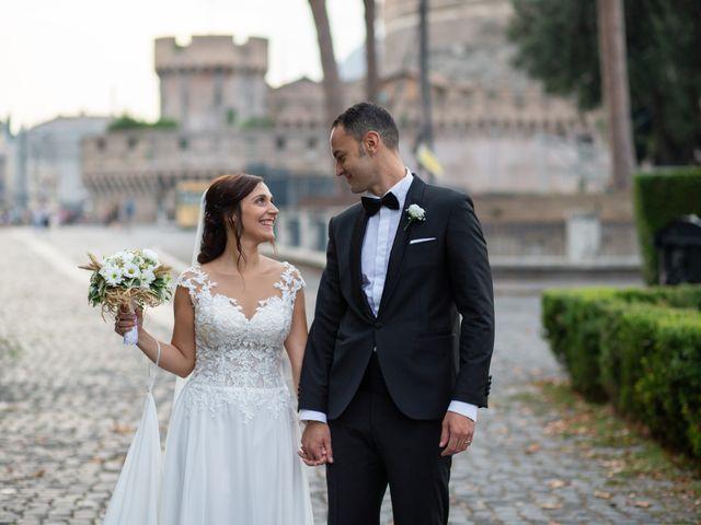 Il matrimonio di Simone e Francesca a Roma, Roma 41