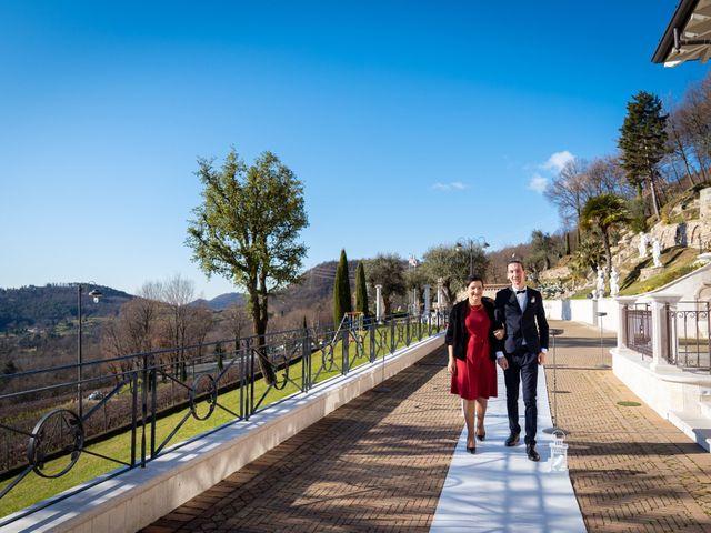Il matrimonio di Angelo e Hila a Trescore Balneario, Bergamo 22