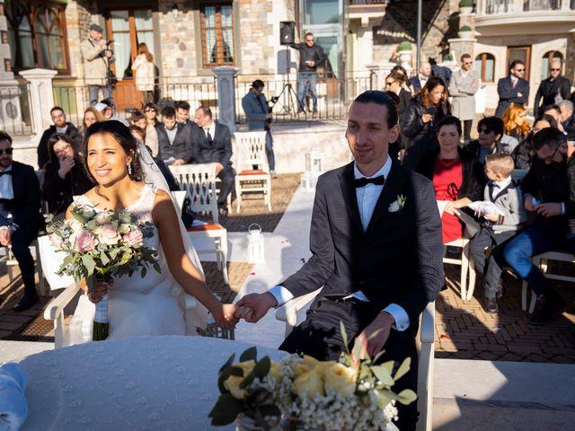 Il matrimonio di Angelo e Hila a Trescore Balneario, Bergamo 27