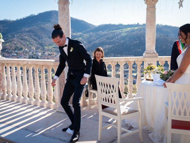 Il matrimonio di Angelo e Hila a Trescore Balneario, Bergamo 35