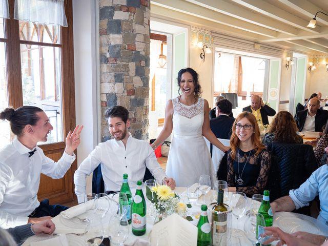 Il matrimonio di Angelo e Hila a Trescore Balneario, Bergamo 45