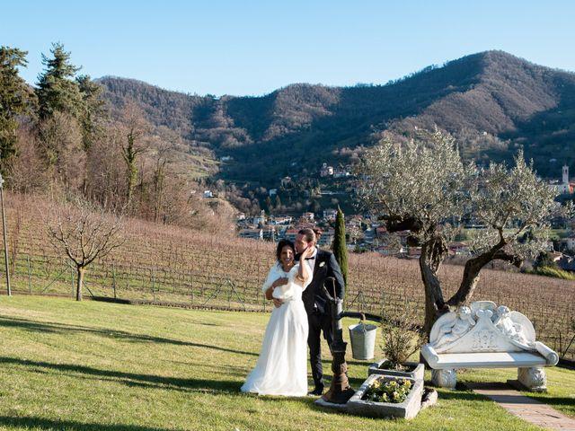 Il matrimonio di Angelo e Hila a Trescore Balneario, Bergamo 53