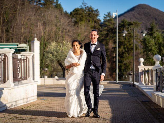Il matrimonio di Angelo e Hila a Trescore Balneario, Bergamo 54